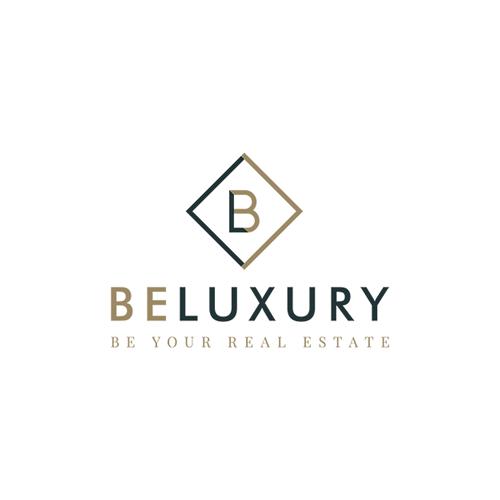 Création de l'image de marque de Be Luxury, la nouvelle agence immobilière haut de gamme dans le Hainaut
