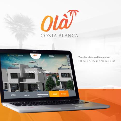 Votre retraite en Espagne ? olacostablanca.com vous accompagne et sécurise votre achat de maison et appartement en Espagne